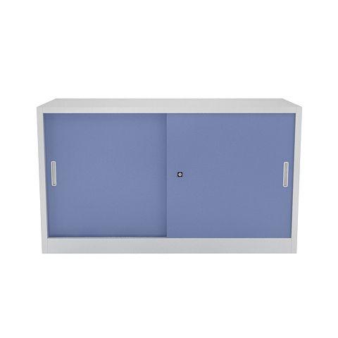 Armoire basse m tal h 105 x l 180 cm portes coulissantes grand volume - Congelateur armoire grand volume ...