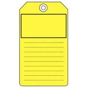 Amerikaanse labels van gekleurd karton