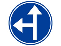 Platte verkeersborden