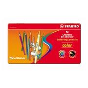 Metallene Box 12 Farbstifte