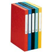 Ordnungsmappe Cartobox Cartorel Glanzkarton 5/10 Rücken 2,5 cm - farbig sortiert