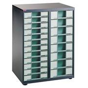 Toonbankmodel hoge capaciteit Clen 2 kolommen antracietgrijs