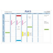Exacompta, magnetic monthly planning