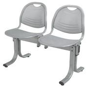 Vega 2-Sitzer-Bank - Aluminium Metall
