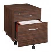 Mobile drawer cabinet 2 drawers Cubo light grey