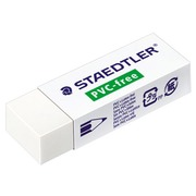 White eraser Staedtler without PVC