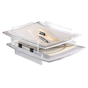 Cep Pro, letter tray, black