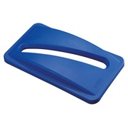 Blauw deksel voor papier en tijdschriften Slim Jim