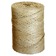 Ficelle d'emballage Sisal naturel L 90 m