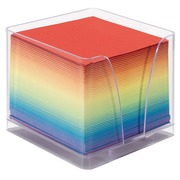 Plexi cube  with refill coloured notes