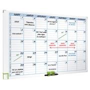 Planning magnétique mensuel 7 colonnes Nobo