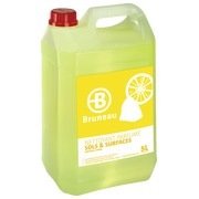 Multi-use detergent, Bruneau, lemon, can of 5 litres