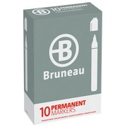 Permanent markers with metal body Bruneau