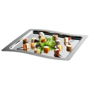 Tray for receptions