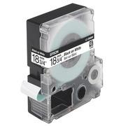 Band Epson 18 mm LC 5WBN9 Weiß mit schwarzem Text