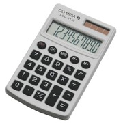 Pocket calculator Olympia LCD-1110 white