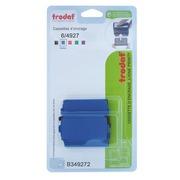 Blister of 3 ink cassettes for Trodat 4927 - blue