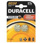 CR2032 lithium Duracell - Blister van 2 batterijen