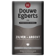 Packung 250 g Douwe Egberts gemahlener Kaffee 80% Arabica - 20% Mokka (silber)