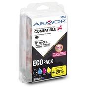 Pack cartridges Armor compatibel met HP 940XL 4 kleuren voor inkjetprinter