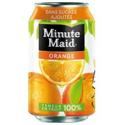 Minute Maid jus orange 33 cl - Carton de 24 canettes