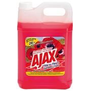 Nettoyant multi-usages Ajax fleurs rouges - Bidon de 5 litres