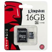 Kingston - carte mémoire flash - 16 Go - microSDHC