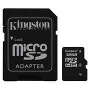 Kingston - carte mémoire flash - 32 Go - microSDHC