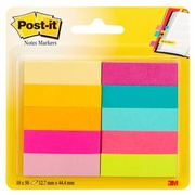 Bookmarks coloured paper Post-It