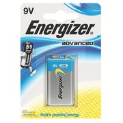 Pile AAAA - LR61 Energizer Eco Advanced - Blister de 1 pile 9 volts