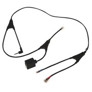 Accessory headset with electronic hook switch Jabra Po & GO 8-9