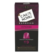 Capsules Carte Noire Intense n°9 - Box of 10