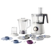 Philips Viva Collection HR7762 - food processor - 750 W - oyster metallic