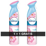 1 air freshener Febreze perfume blossom 300 ml + 1 for free