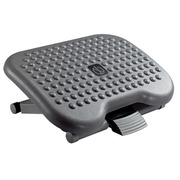Foot rest massage adjustable