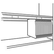 Jeu de 2 rails pour dossiers suspendus - meubles Osaka