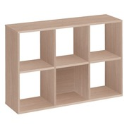 Maxicube Color 6 compartments oak