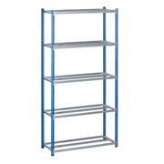 Rack Industri'Pro basic element 40 x 200 x 100 cm blue