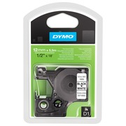 DYMO D1 - label tape - 1 roll(s) - Roll (1.2 cm x 5.5 m)