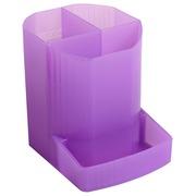 Pot à crayons MINI-OCTO - Violet translucide (67519D)