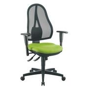 Pak stoel Holly groen + aanpasbare armleuningen