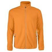 Printer Rocket Fleece Jacket Bright Oranje 4XL