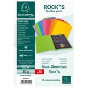 ROCK''S 80 Pak van 30 inlegmappen - 22x31cm voor A12. (800001E)