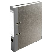 Classeur à levier papier marbre gris dos de 50mm - A4.