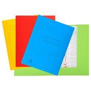 50er Packung Aktenmappen mit Beschriftungsfeld und 2 Klappen aus Recycling Karton 290g Forever,24x32cm. (445000E)