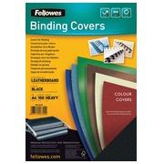 Fellowes omslagen ft A4, 250 micron, pak van 100 stuks, zwart