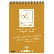 Canson schetsblok XL Extra White ft 29,7 x 42 cm (A3)