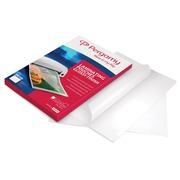 Pergamy pochette à plastifier ft A4, 150 microns (2 x 75 microns), paquet de 100 pièces