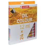Talens Art Creation peinture à l'huile tube de 12 ml, set de 24 tubes en couleurs assorties