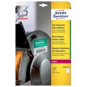 Avery L7915-10 weerbestendige etiketten ft 99,1 x 139 mm (b x h), 40 etiketten, wit